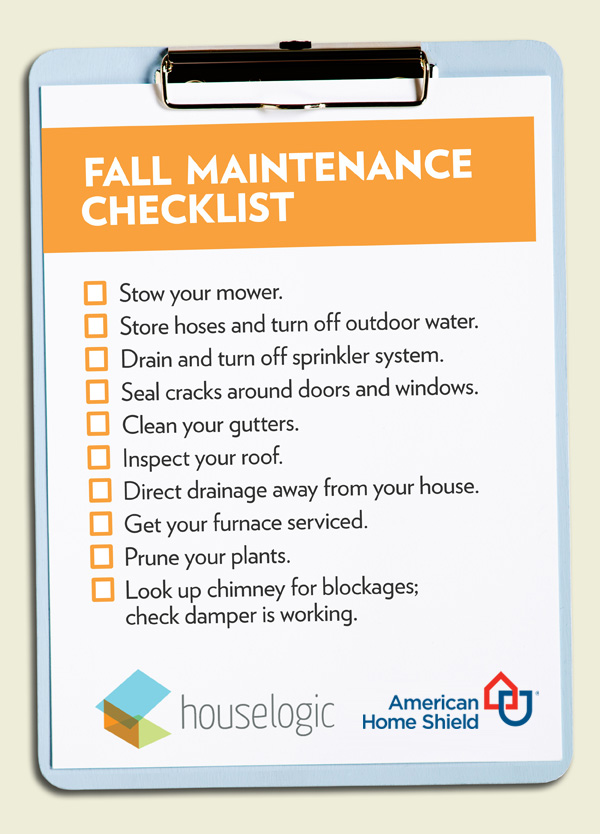 Fall Maintenance Checklist - Coggins Insurance Agency on america painting, america photography, america dogs, america woodworking plans, america small houses, america shopping, america windows, america of america, america flowers, american mansion plans, america art, new american home plans,